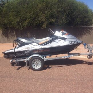 2008 Seadoo RXT 255 Jet Ski - New Trailer, Accessories included Stirling North Port Augusta City Preview