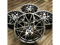 BMW M3 Competition Pack Alloy's