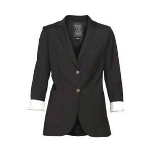 Womens black blazer, size 0