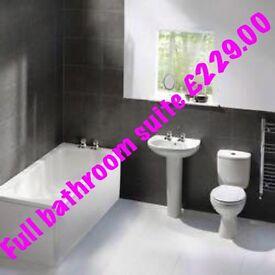 Full bathroom suite £229