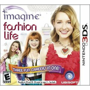 Nintendo 3DS game - Imagine Fasion Life
