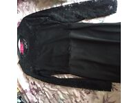Boohoo Black Lace dress- new and never worn- smoke and pet free home- £20