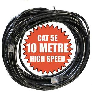 10M Meter CAT5e 5 RJ45 Ethernet Internet Lead Cable Network Sky Modem LAN Router