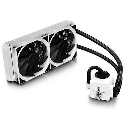 DEEPCOOL CAPTAIN 240 EX WHITE (AM4) 2x120mm CPU Liquid Cooler for Intel