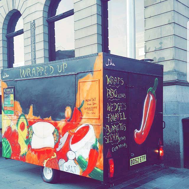 10FT HOT FOOD TRAILER + BUSY CITY CENTRE PITCH FOR SALE