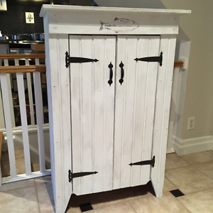 VINTAGE COUNTRY STYLE JAM CUPBOARD