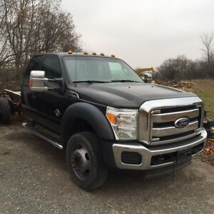 2011 Ford F550 4WD DIESEL DUALLY XLT Pickup Truck