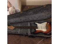 Jaguar Fender Electric Guitar and Case