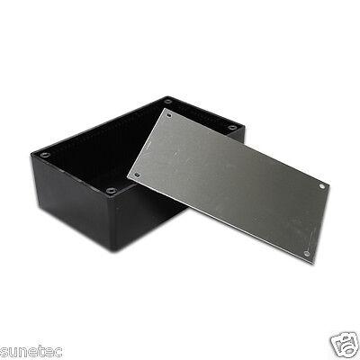 Sx532 5 Diy Black Plastic Electronic Project Enclosure Box Case