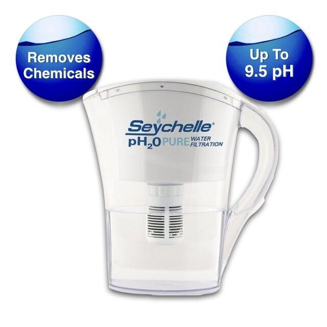 SEYCHELLE PH2O PURE ALKALINE WATER FILTER PITCHER - SMALL +