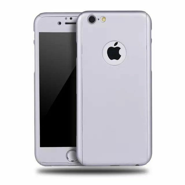 Luxury Ultra-thin Shockproof Armor Back Case Cover for Apple iPhone X 5 7 6 Plus