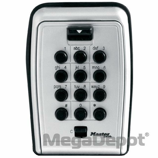 Master Lock 5423D, No. 5423D Wall Mount Lock Box
