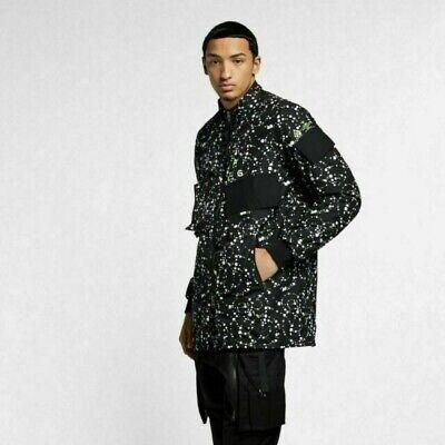 New Men's Nike ACG Insulated NikeLab Acronym Jacket AQ3531-010 Black Size XL