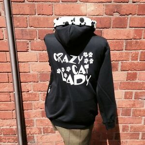 Crazy Cat Lady Sweatshirt Uk