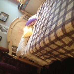 solid pine bedroom suite