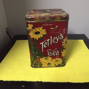 Tetley's Tea Tin