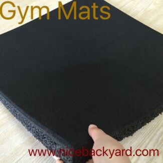 1m X 1m Rubber Gym Mats...... 15mm and 20mm
