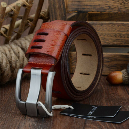 Genuine Leather Belts For Men Classy Dress Belts Mens Belt Usa Stock