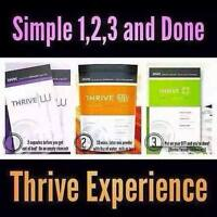 Sharing the thrive experience with others