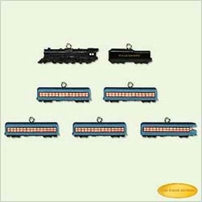 2005 HALLMARK Ornament ~ Polar Express - Train SET MINIATURE QXM6475