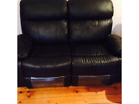3+2 HIGH BACK RECLINER SOFA WITH CINEMA CUP HOLDERS £350