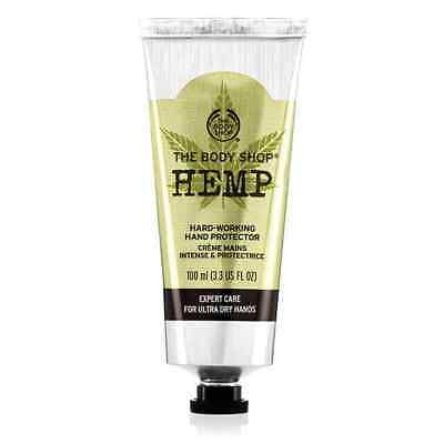 The Body Shop Hemp Hand Protector 3.3 oz LARGE *FREE SHIPPING!* (new packaging)