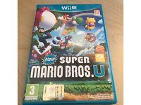 Super Mario Bros U - Wii U Game - as new