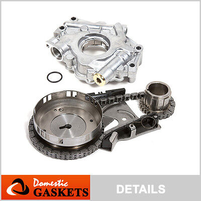 Fit 03-08 Dodge Ram Chrysler Jeep 5.7L HEMI Timing Chain Kit+Oil Pump VIN D 2 H