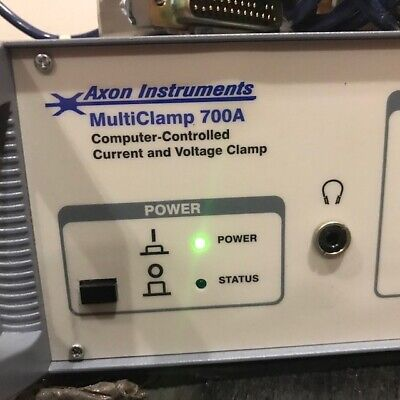 Axon Instruments Multiclamp 700a Patch Clamp Amplifier And Two Cv-7a Headstages