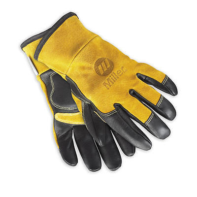 Miller Welding Genuine Multi-purpose Gloves 249185 Welding Large Lg Work Leather