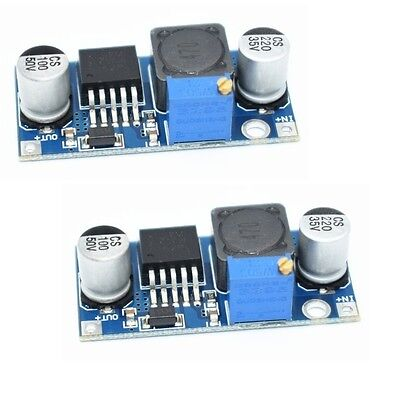 2 Pieces - Xl6009 Dc Adjustable Step Up Power Converter. Replaces Lm2577