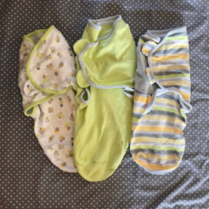 Summer Infant Swaddle Me 3 Pack