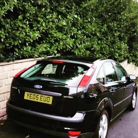 Black Ford Focus, excellent runner