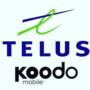 TELUS AND KOODO BEST PLANS... FAST AND RELIABLE SERVICE