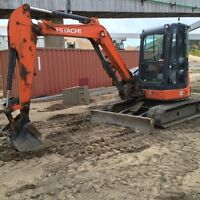 2012 Hitachi ZX50 Mini Excavator