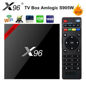 2019 Android 7.1 TV Box, X96 SMART TV Box- 2GB Ram 16GB ROM