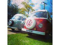 VW T2 Classic camper van HIRE! Type 2 bay window!