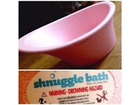 Pink Shnuggle Baby Bath