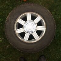 Cadillac Escalade winter tires and Rims & Caliper Covers