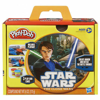 BRAND NEW PLAY DOH FAVOURITES STAR WARS THE CLONE WARS