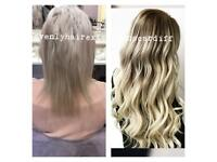 Hair extension fitting cardiff-heavenlyhairextensionscardiff all methods, 10 years experience