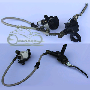 Hydraulic brake assemblies pocket bike