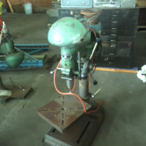 Drill Presses, Pedestal Buffer dual arbors, Sheffield Measuring,