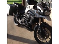 Low mileage 2013 Triumph Explorer 1215cc adventure bike with lots of extras as new condition new MOT