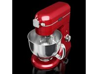 NEW BELLING PROFESSIONAL RED DIE CAST STAND FOOD MIXER RRP £139.99