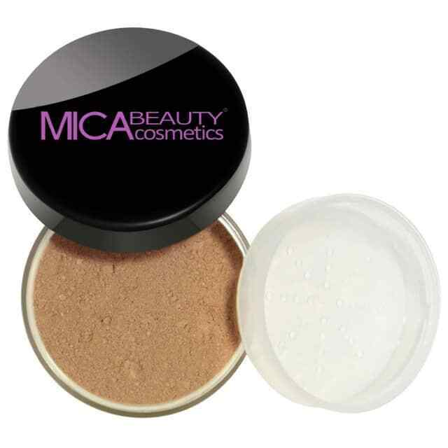 MICA BEAUTY Mineral Foundation Powder oz Brand New - MF5 CAPPUCCINO