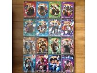 Dr Who TV Series DVDs x16