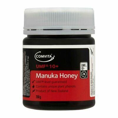 Comvita Manuka Honey UMF 10+  250GM BB 15/12/21 FREE POSTAGE  SAVE $40.00