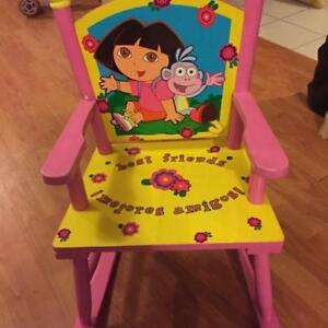 $20 - Dora Rocking Chair. Mint Cond. No smoke . no Pet home