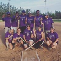 Looking for a couple for a CoEd slo pitch team